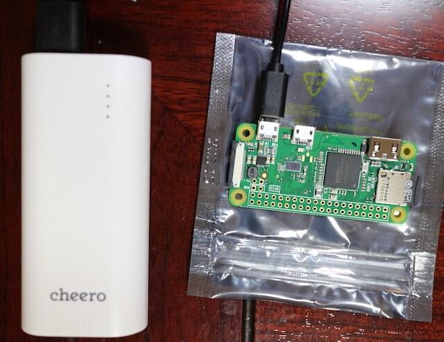 Raspberry Pi zero W のヘッドレスインストール(キーボードやマウスなしでRaspbianをインストールする方法)