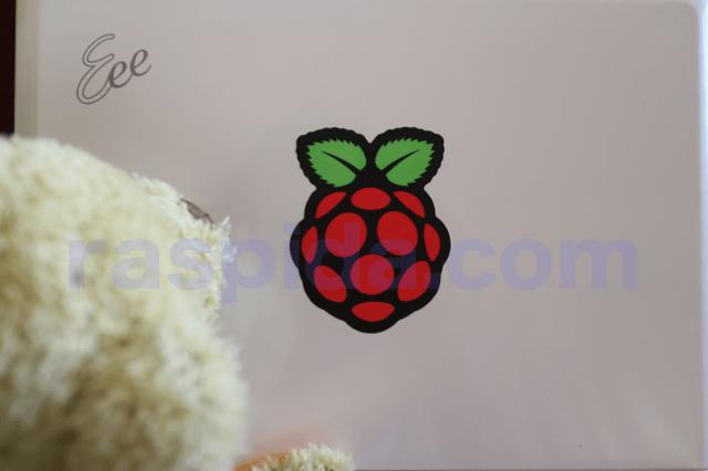 RaspbianをeeePC901xへインストールする