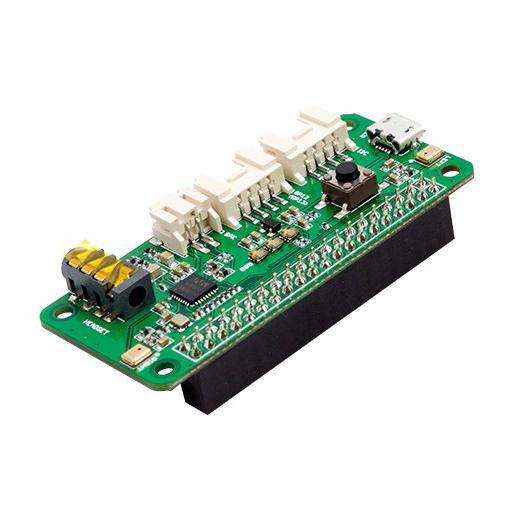 ReSpeaker 2-Mics pHATはAIに最適な拡張ボード