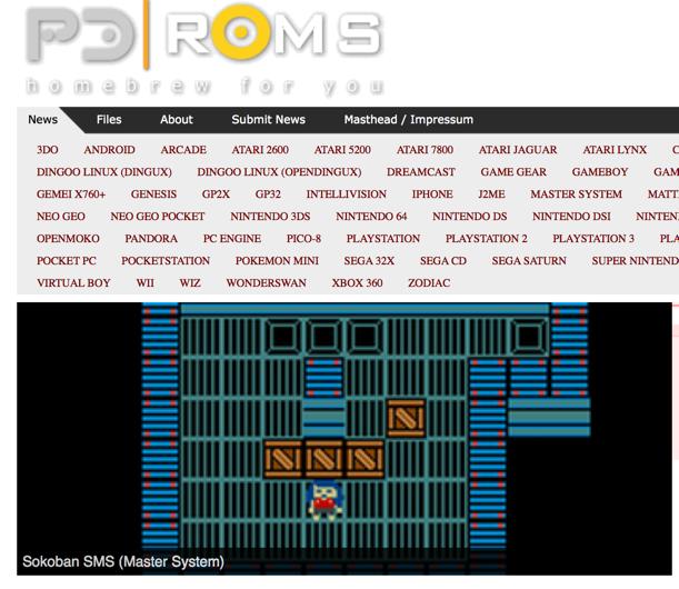 PD ROMS