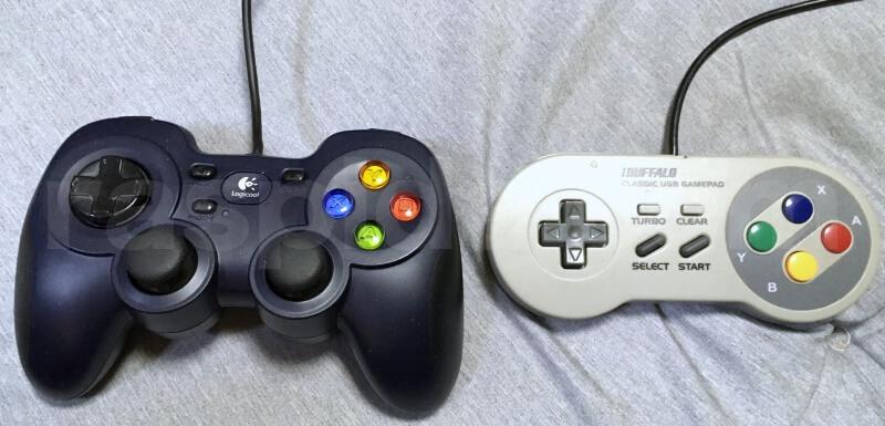 2つのコントローラー比較