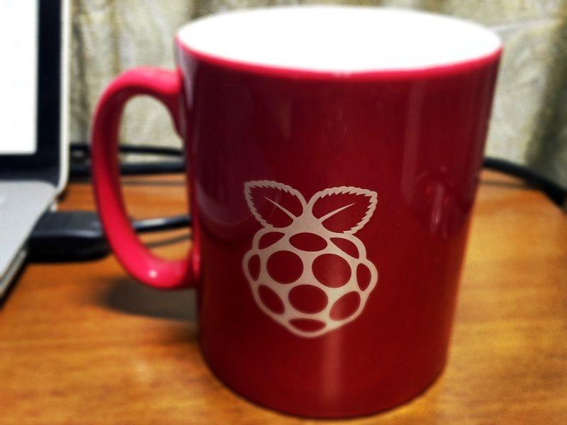 使用しているRaspberry Pi マグカップ