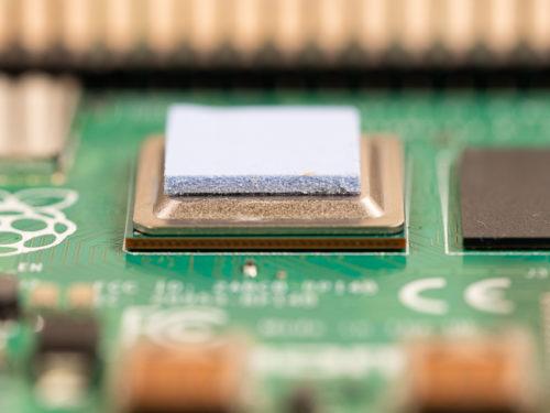CPUにグリスシール