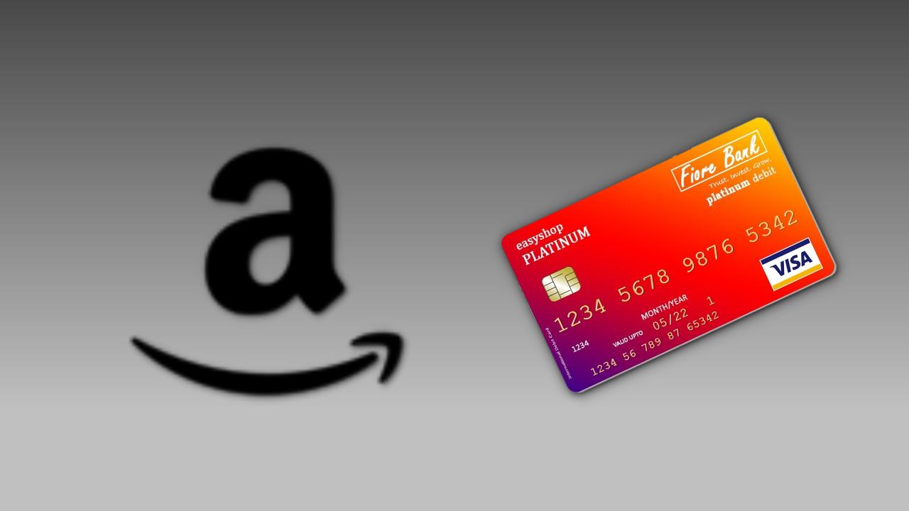 デビットカードをAmazonで