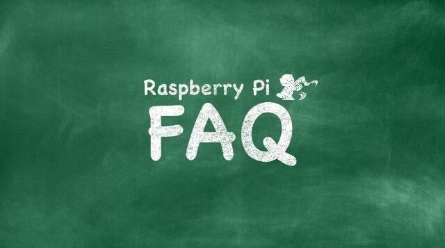 Raspberry Piの素朴な疑問「ラズパイFAQ」