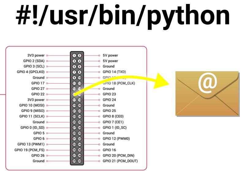 gpio-sendmail-python