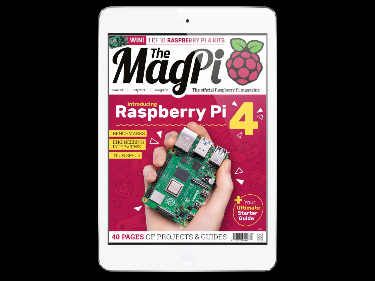 The MagPi Magazine83号 表紙