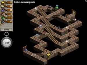 mysticmineのゲーム画面