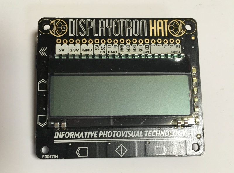 Display-O-Tron HAT