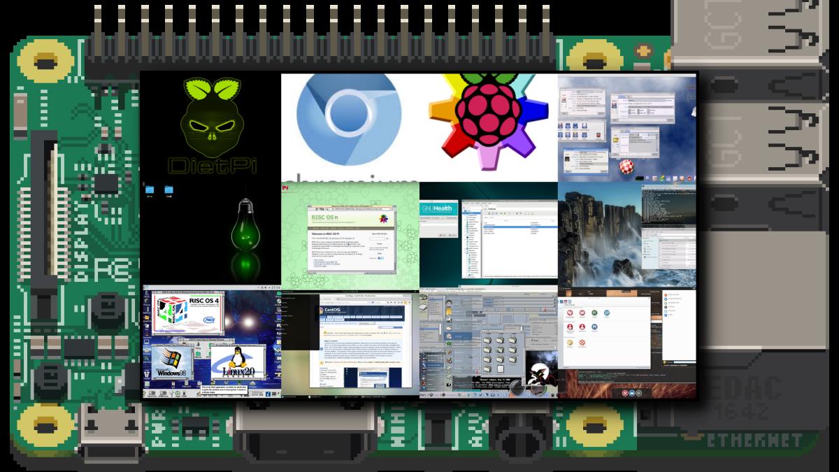 Raspberry Pi で動く様々なOS一覧まとめ13種類!