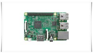 Raspberry Pi 3B基板写真