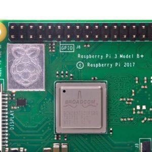 Raspberry Pi 3B+ アップ写真
