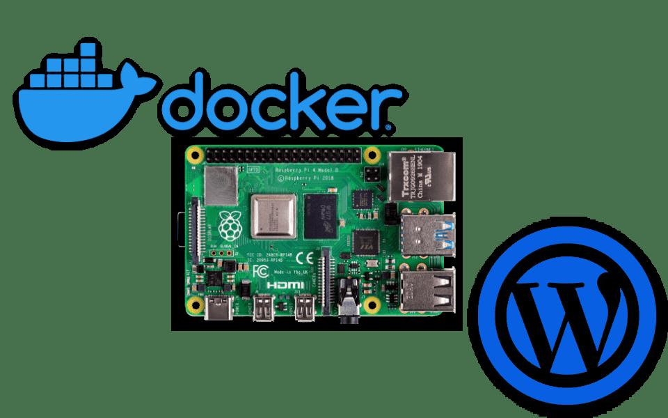 rpi4-docker-wordpress