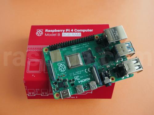 Raspberry Pi 8GBモデル