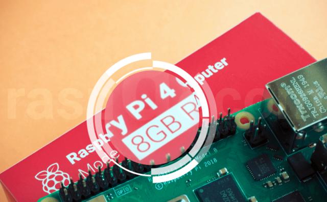 メモリー8GBモデルのラズパイ4もアーマードケースでデスクトップPCライクにしてみた
