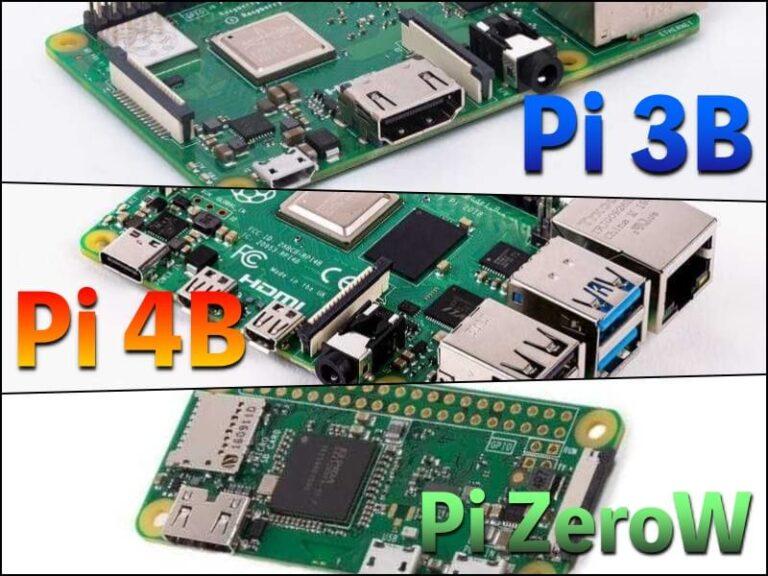 どのラズパイを買うべきか? Pi4、Pi3B+、PiZeroWの比較