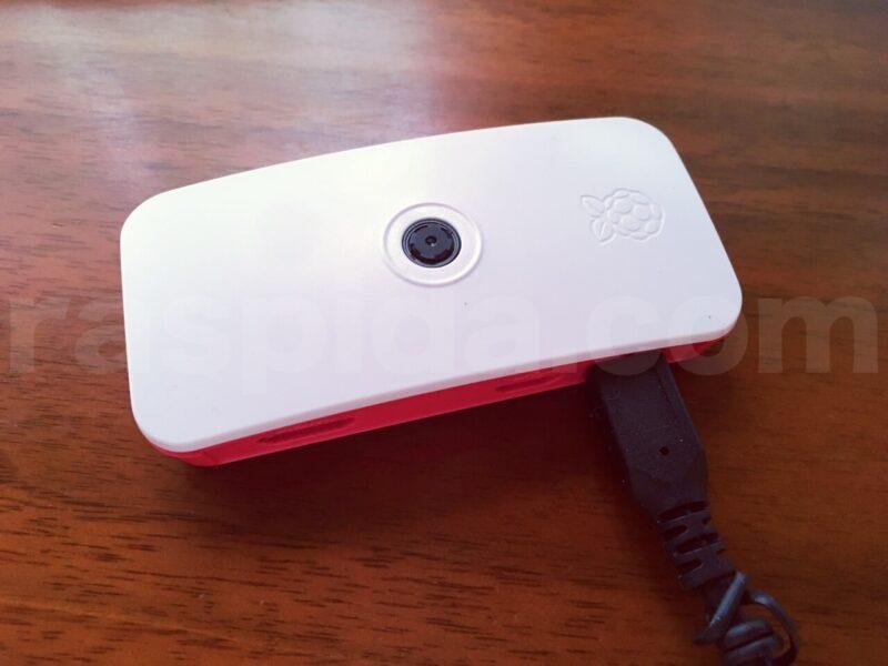 Raspberry Pi Zero WとPiカメラモジュールV2と公式ケース